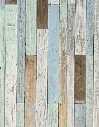 Stitching Color Plank Board Wood Floor Backdrop Photo Studio Background