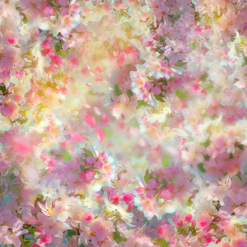 Painting Pink Floral Flowers Newborns Backdrop Wedding Backdrop Photo Studio Background