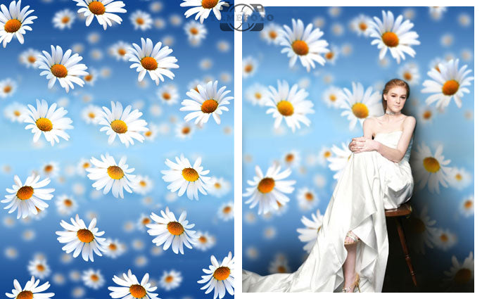 Vinyl Flower Wedding Children Fotografia Backdrop Photo Studio Background