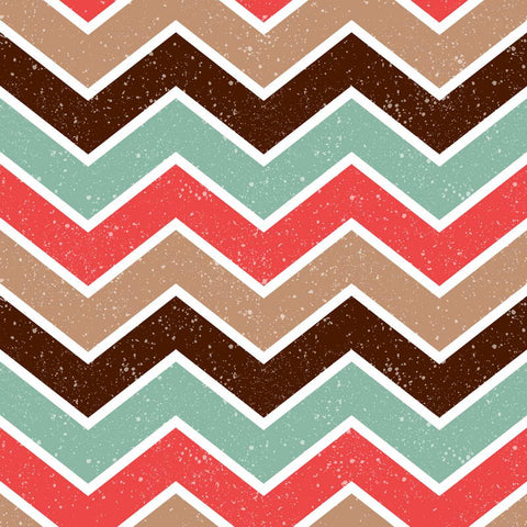 Multicoloured Chevron Style Children Backdrop Photography Studio Background