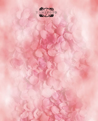 Dreamlike Pink Flowers Newborns Fotografia Backdrop Props Photography Studio Background