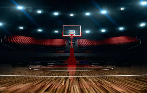 Basketball Stadium Sport Field Photography Studio Backdrop Background