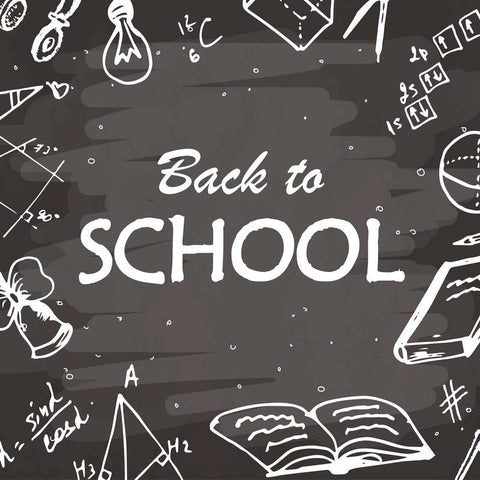 Back To School Blackboard Chalkboard Backdrop Photo Studio Background