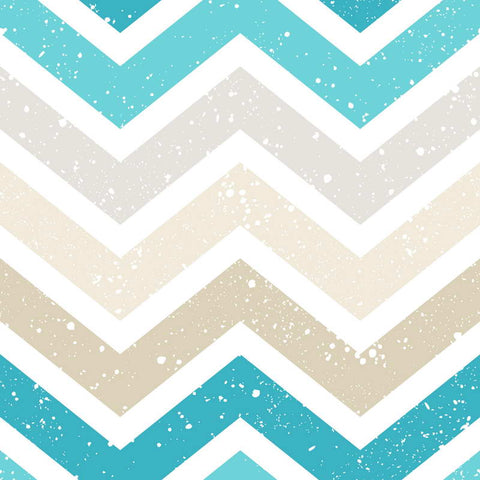 Yellow Cyan Chevron Style Children Backdrop Photography Studio Background