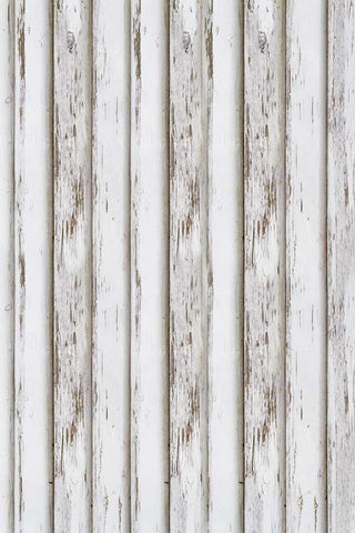 White Gray Plank Board Wood Backdrop Photo Studio Background