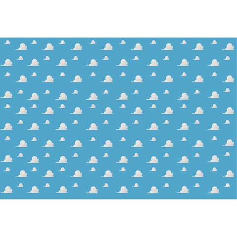 Cartoon Toy Story Birthday Cloud Party Photography Studio Backdrop Background