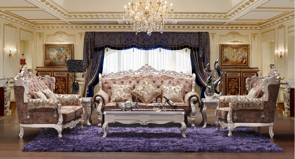 3+2+1 european royal style fabric sofa sets living room furniture,antique  style wooden sofa baroque furniture from Foshan