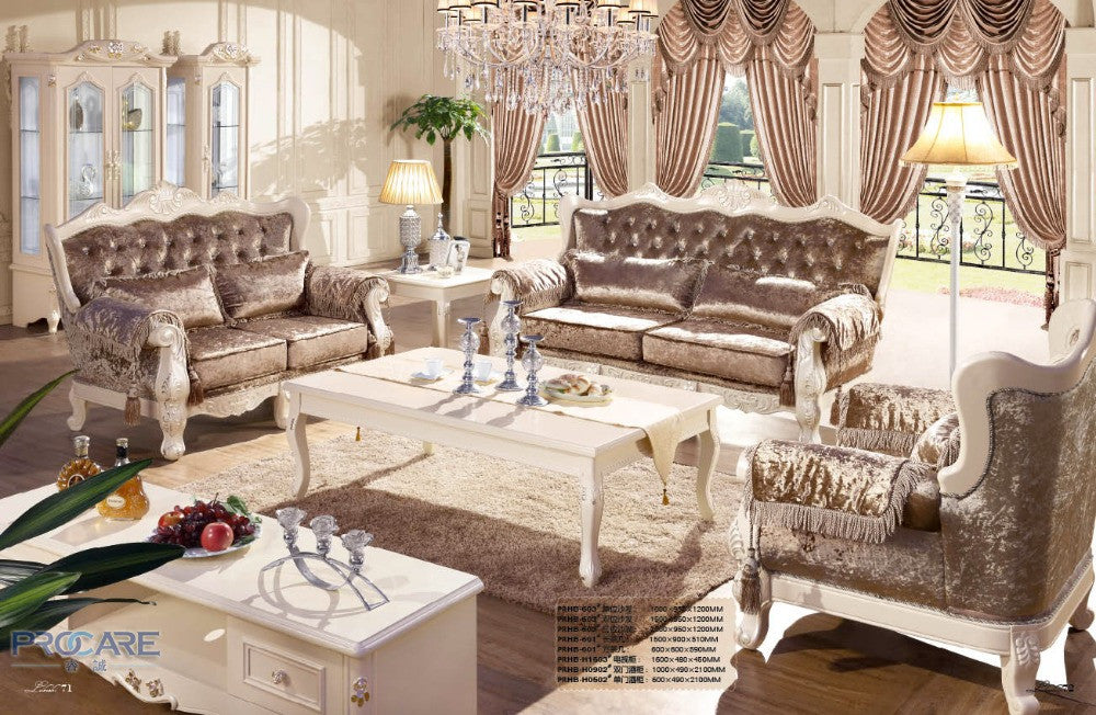 European style brown armchair sofa set living room furniture,modern fabric  couch set furniture prices china