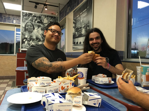 Derek and Tony at White Castle!