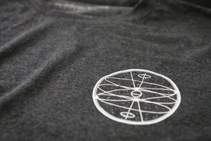 Celestial Sphere Tee (Charcoal Heather)