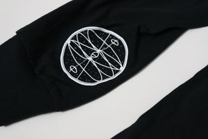 Eclipse Long Sleeve Tee (Black)