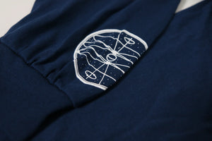 Eclipse Long Sleeve Tee (Blue)