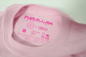 PRLX // Keep A Breast - Logo Tee (Pink)