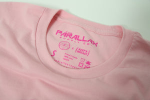 PRLX // Keep A Breast - Ladies Fitted Tee (Pink)