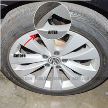 Load image into Gallery viewer, Black Car Wheel Tire Valve Dust Stems Air Caps Cover Keychain Mugen Power Emblem - US85.COM