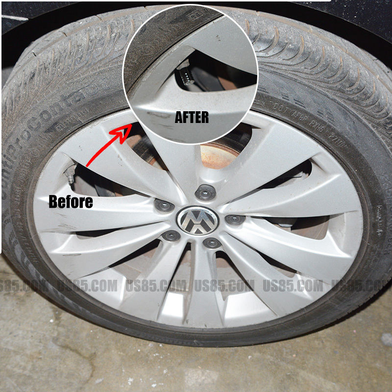 Black Chrome Car Wheel Tyre Tire Air Valve Caps Stem Cover With Mclaren Emblem - US85.COM