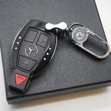 Load image into Gallery viewer, Black Car Remote Key Case Holder Shell Protect Housing Cover Decoration Gift B - US85.COM