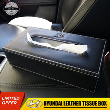 Load image into Gallery viewer, Hyundai Leather Auto Car Tissue Box Cover Napkin Paper Holder Decoration Gift - US85.COM