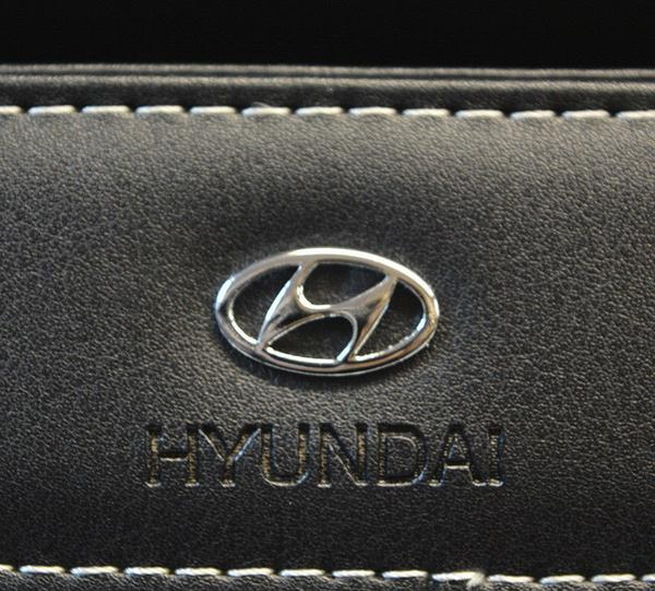 Hyundai Leather Auto Car Tissue Box Cover Napkin Paper Holder Decoration Gift - US85.COM