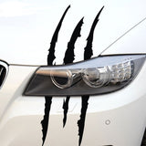1Pcs Claw Marks Sticker Decals Dinosaur Monster Raptor Scratches Jurassic Park Decal Stickers