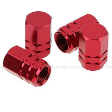 Load image into Gallery viewer, Red Aluminum Tire Wheel Rims Stem Air Valve Caps Tyre Cover Fit All Auto Car - US85.COM