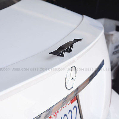 "6.7"" Universal Mini Spoiler Auto Car Tail Decoration Spoiler Wing Carbon Fiber - US85.COM"