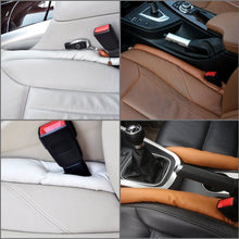 Load image into Gallery viewer, Universal Car Vehicle Seat Hand Brake Gap Filler Pad PU Leather Decoration Gift - US85.COM