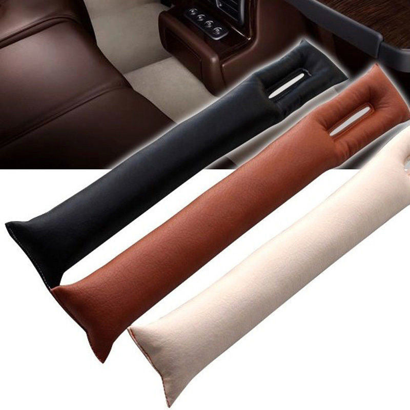 Universal Car Vehicle Seat Hand Brake Gap Filler Pad PU Leather Decoration Gift - US85.COM