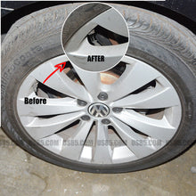 Load image into Gallery viewer, Black Chrome Auto Car Wheel Tire Air Valve Caps Stem Cover With Volkswagen VW  Emblem - US85.COM