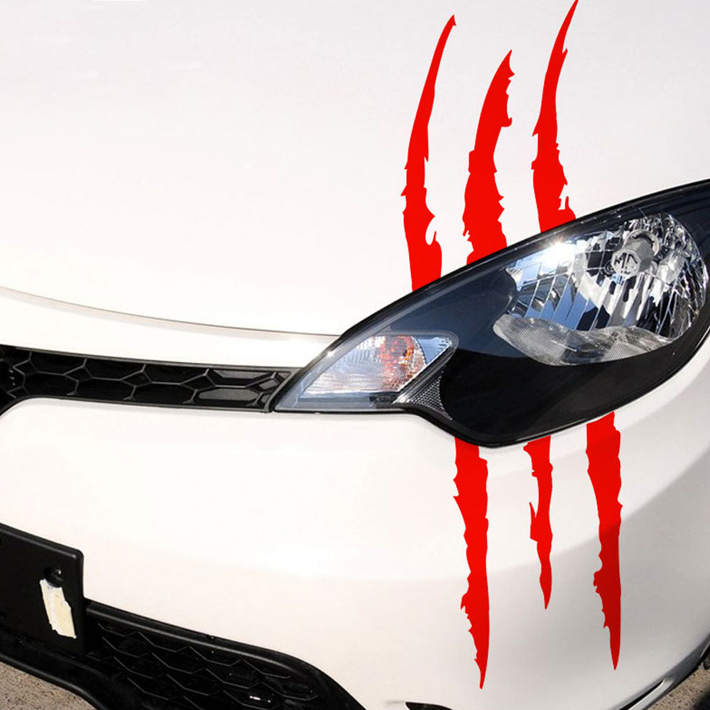 1Pcs Claw Marks Sticker Decals Dinosaur Monster Raptor Scratches Jurassic Park Decal Stickers - US85.COM