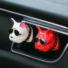 Load image into Gallery viewer, 1Pcs Bulldogs Car Air Freshener Automobile Interior Perfume Vents Clip Fragrance Decoration Bull-dogs Ornaments Car Styling Accessories - US85.COM