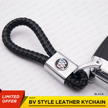 Load image into Gallery viewer, Buick Logo Emblem Key Chain Metal Black Leather Gift Decoration Accessories - US85.COM