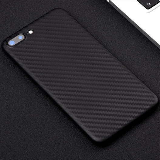 Case for Iphone X, 8/8 Plus, 7/7 Plus, 6/6 Plus, 6S/6S Plus Carbon Fiber Texture Ultra Thin Lightweight Flexible Cover Premium Soft Silicone Dustproof Cover Shockproof Anti-Scratch Cover - US85.COM