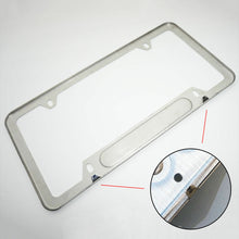 Load image into Gallery viewer, Chrome Stainless Steel Front Rear Mercedes-Benz License Plate Frame Cover Gift - US85.COM