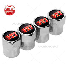 Load image into Gallery viewer, Hex For VW GTI Logo Emblem Car Wheels Tire Air Valve Caps Stem Dust Cover Sport - US85.COM