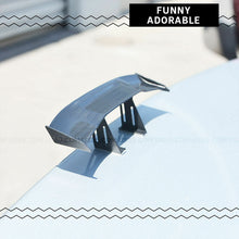 "Load image into Gallery viewer, 6.7"" Universal Mini Spoiler Auto Car Tail Decoration Spoiler Wing Carbon Fiber - US85.COM"