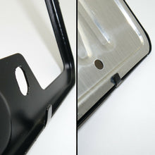 Load image into Gallery viewer, Black Stainless Steel Front Rear Emblem License Plate Frame Cover Gift - Volvo - US85.COM