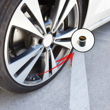 Load image into Gallery viewer, Real Carbon Fiber Car Wheel Tire Air Valve Caps + Keychain Stem Cover BBS Emblem - US85.COM