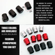 Load image into Gallery viewer, Hex Mercedes AMG Edition Car Wheels Tire Air Valve Caps Stem Dust Cover Sport - US85.COM