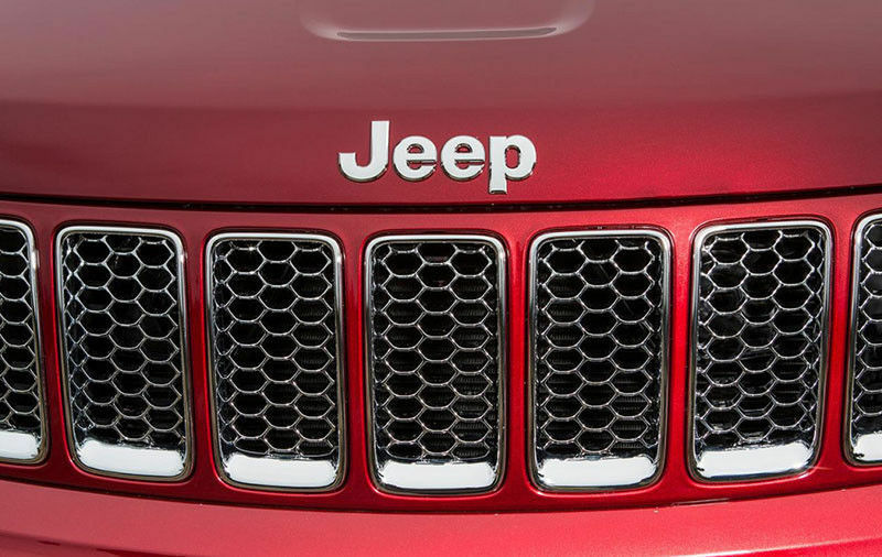 Silver Chrome 3D For JEEP Hood Trunk Tailgate Emblem Logo Sticker Badge Set 2pcs - US85.COM