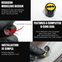 Load image into Gallery viewer, Hex For Mopar Car SUV Wheels Tire Air Valve Caps Stem Dust Cover Sport Limited - US85.COM
