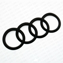 Load image into Gallery viewer, A5 S5 RS Sportback Matte Black Trunk Logo Rings Badge Emblem Decoration Modified - US85.COM