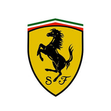 Load image into Gallery viewer, Black Wheels Tire Air Valve Caps Stem Valve Cover Scuderia Ferrari SF Emblem - US85.COM