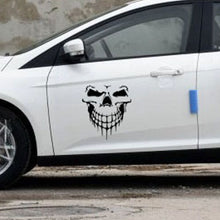 Load image into Gallery viewer, 1Pcs Car Decal Reflective Skull Car Truck Sticker Racing Window Decal Funny Car Sticker - US85.COM