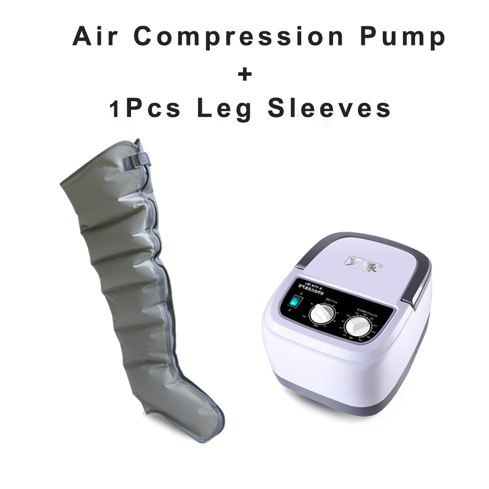 Sequential Compression Device Compression Pump, Foot Arm Leg Massager, Leg Arm Compression Massasger, Blood Circulation machine for Legs, Air Compression Leg Arm Massager - US85.COM