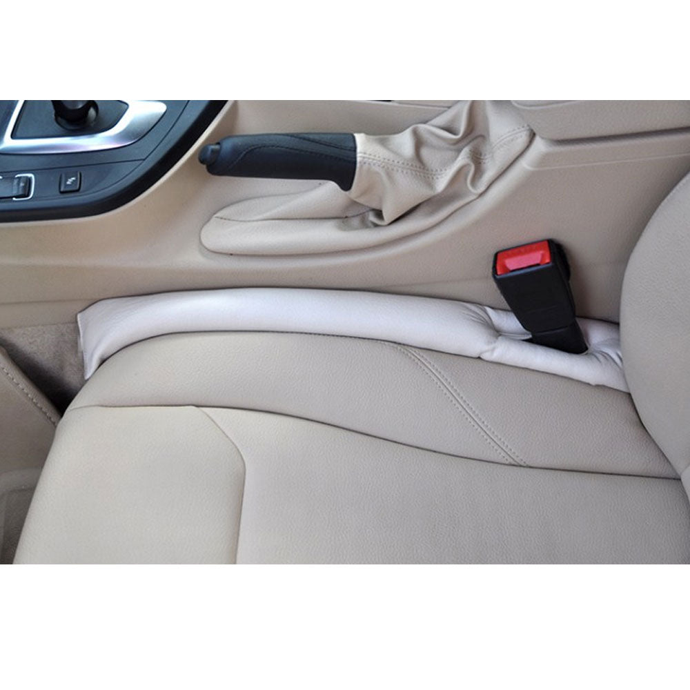 1Pcs PU Leather Car Seat Gap Stopper Leak Proof Stop Pad Filler Spacer Mat Cushion Cover Auto Slot Plug Stopper - US85.COM