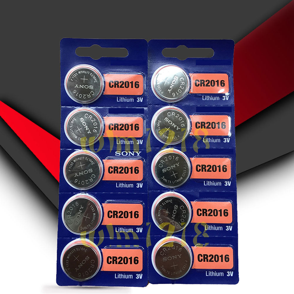 5Pcs/Set Sony Coin Cell Battery CR2016/CR2025/CR2032 3V Lithium Replaces - US85.COM
