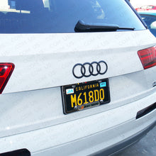 Load image into Gallery viewer, AUDI Q7 Trunk Luggage Lid Rings Badge Logo Emblem Decoration 4M0 - Matte Black - US85.COM