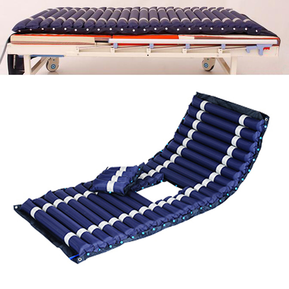 Alternating Pressure Mattress- Inflatable Bed Pad for Pressure Ulcer and Pressure Sore Treatment - Fits Standard Hospital Beds - Includes Electric Air Pump & Mattress Pad - US85.COM