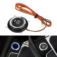 Load image into Gallery viewer, 12V Safe Car Engine Start Stop Push Button Keyless Entry Ignition Starter Switch LED Light for Auto Replacement